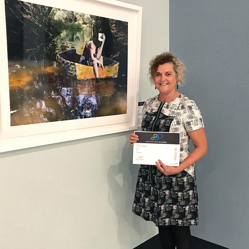 Rochelle overall winner of 2017 Moreton Bay Region Art Award